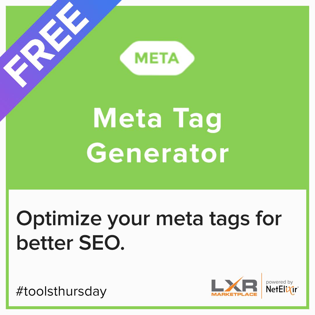 Meta Tag Generator free SEO tool