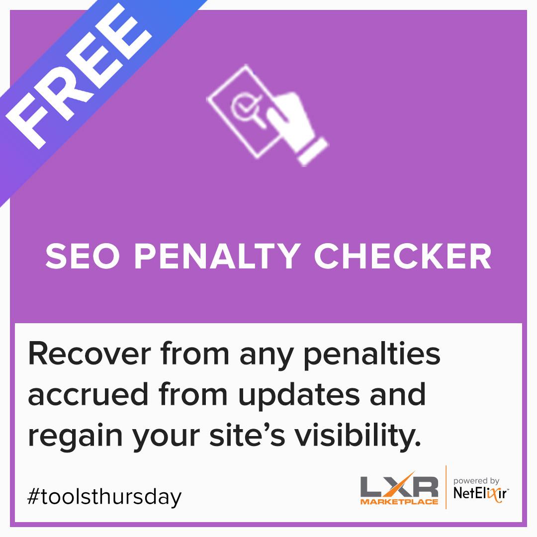 SEO Penalty Checker tool