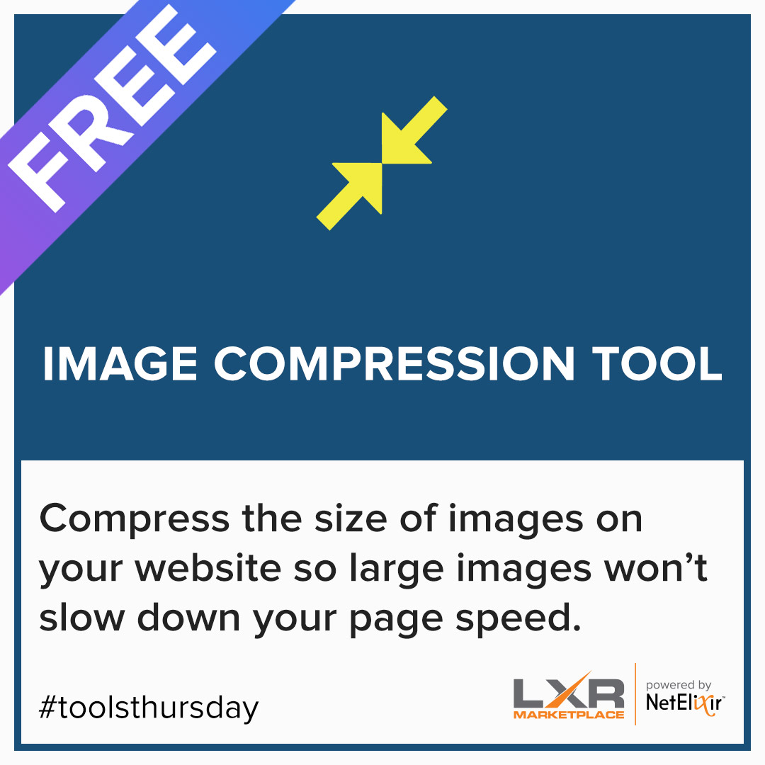 Image compressor tool for faster page speed